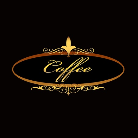 coffee sign board Stock Vector - 17207148