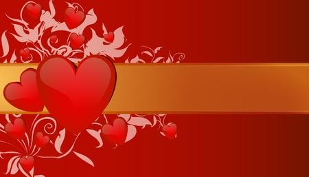 st valentin: valentines greeting card illustration