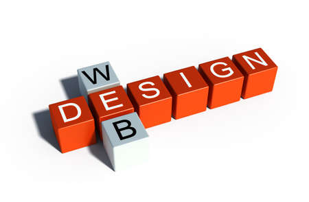 web design sign illustration Stock Illustration - 17336343