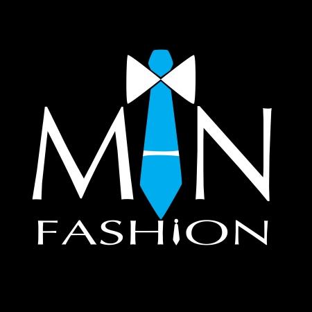 moda hombre vector logo