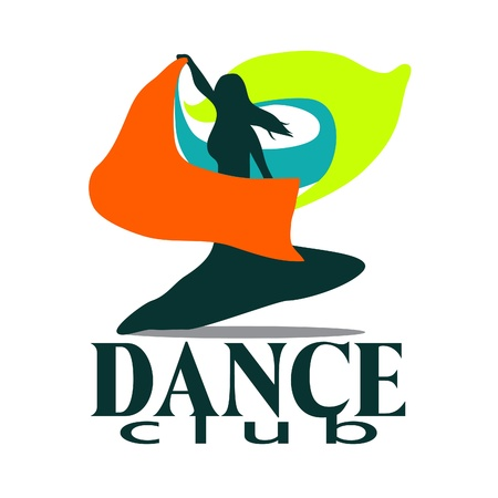 exotic dancer: dance club illustration Illustration