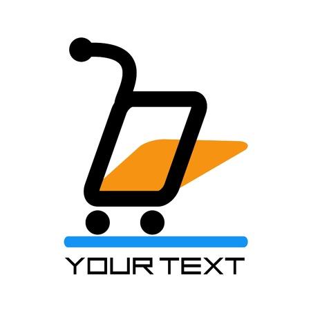 logo de marché en ligne