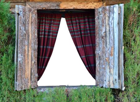 wood window Stock Photo - 23291990