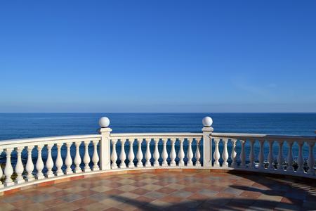 seaview: seaview panorama Stock Photo