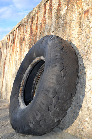 Old Truck Tires photo
