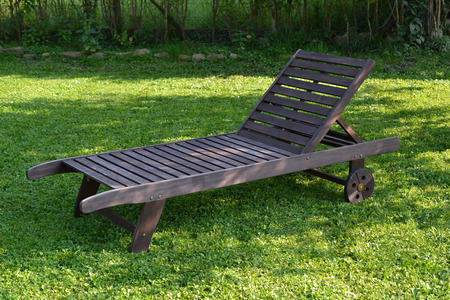 deck chairs: Chaise longue