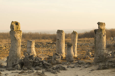 phenomenon: Standing Stones natural phenomenon