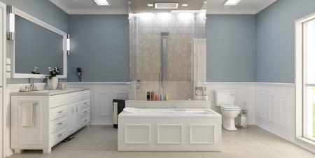 wc: Klassisch-moderne Bad mit WC