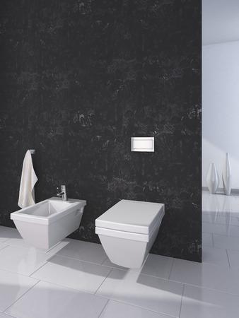vase plaster: Modern toilet