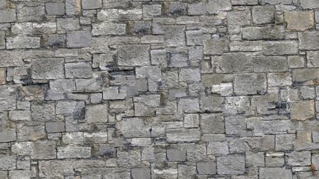 Seamless texture stone wall