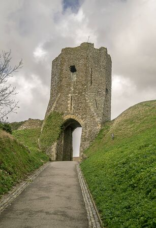 dover: Coltons gate at Dover castle, England