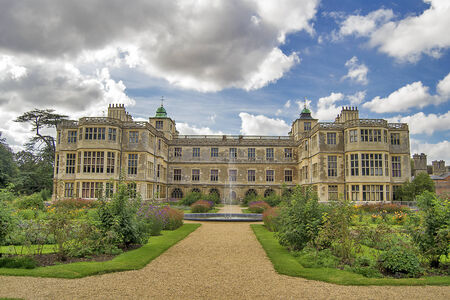 Audley end house in Saffron Walden, Essex, England. photo