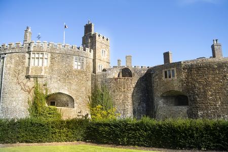 Walmer-Schloss an einem schönen sonnigen Tag in England. Standard-Bild - 50942272