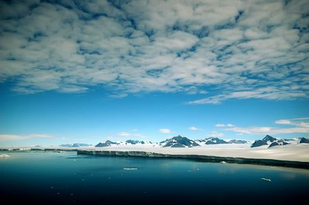 Antarctic Peninsula Stock Photo