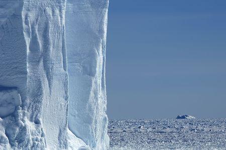Iceberg wall in Antarctica Stock Photo - 2615774