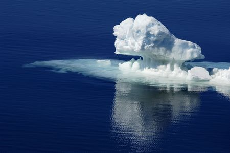 Pure Antarctic ice Stock Photo - 2615740