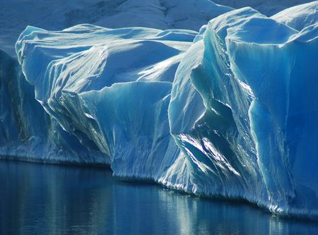Blue ice Stock Photo - 5809699
