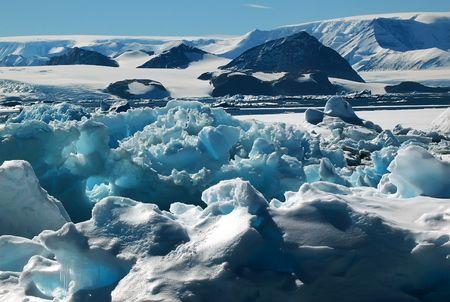 World of ice photo