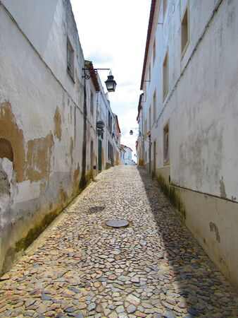 Old passage in Evora, Portugal