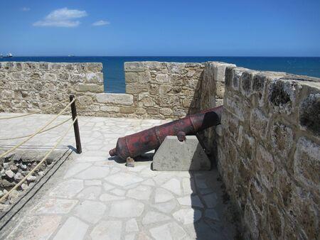Ramparts of Larnaca Castle, Cyprus