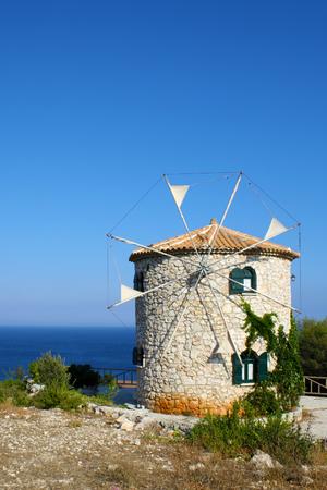 zakynthos: Windmill, Zakynthos, Greece