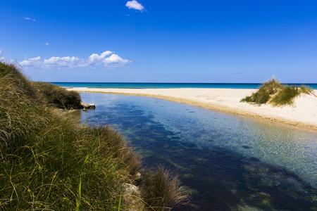 holydays: Mare Salento, sea, Lecce, italy Stock Photo