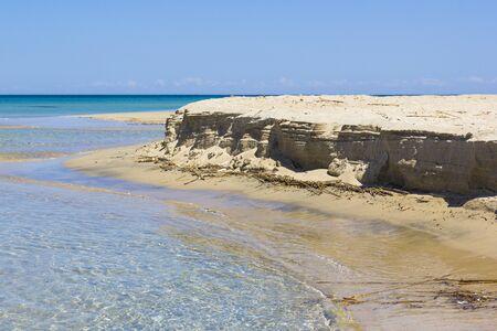 foreshore: Salento beach, foreshore and clear sea