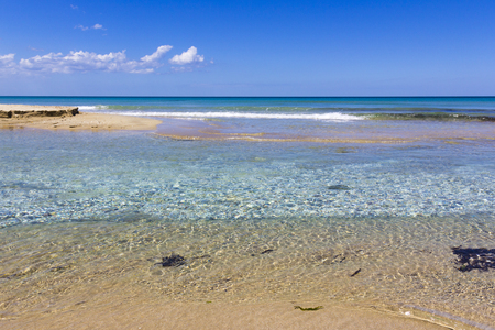 holydays: Sea of Salento, clear waters