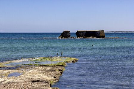 civilization: The remains of the port of Adriano, signs of Roman civilization in Lecce