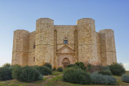 Castel del Monte, Andria, World Heritage Site Редакционное