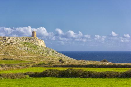 Salento Coast: Torre Minervino dominates the sea between Otranto and Santa Cesarea