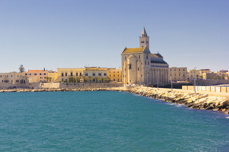 Trani Panorama: cathedral and waterfront