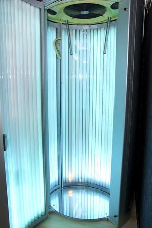 Solarium in the beauty salon Banque d'images