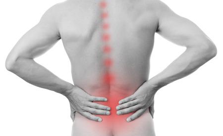 personas de espalda: Dolor en la parte baja de la espalda en los hombres
