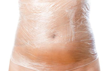 화장품 포장. 여성의 신체를 돌보는. 스톡 콘텐츠
