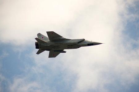aerobatics: Su-24 performing aerobatics at an airshow
