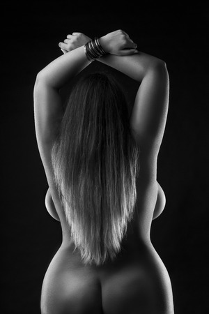 schwarz plus size frauen nackt