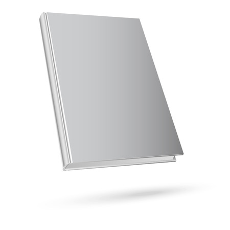 book isolated: Book isolated on white