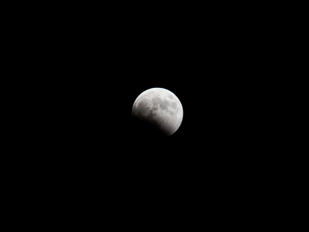 lunar eclipse: Total Lunar Eclipse Stock Photo