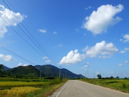 karpenisi: Blue sky,Loei,Thailand