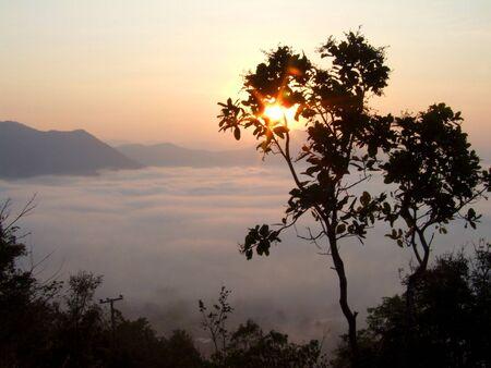 Sunrise,thailand Stock Photo - 11997201