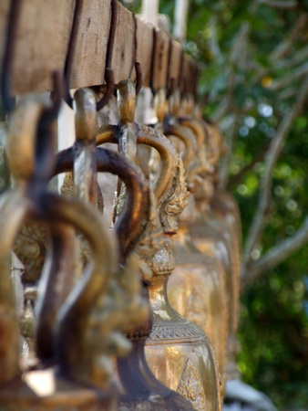 presumption: Bell,Wat Pho Chang Noy,Thailand Stock Photo
