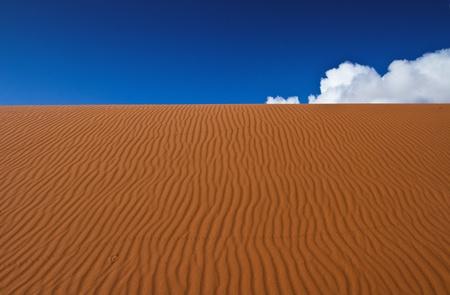 wadi: Wadi Rum desert landscape in Jordan Stock Photo