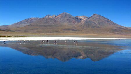 Salar de Uyuni lake,Bolivia