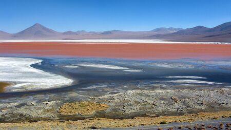 salar: Lago Colorada,Salar de Uyuni,Bolivia