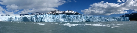 icescape: panorama Perito Moreno Glacier,Patagonia,Argentina