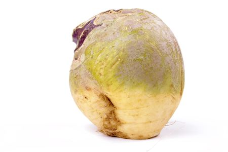 swede: Swede or Turnip? depends where you live. isolated against white background.