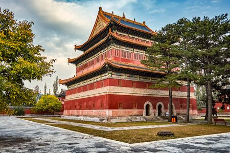 Anyuan Temple, Temple of Distant Peace, one of the Eight Outer Temples of Chengde in Chengde Mountain Resort, summer residence of Qing dynasty emperors of China in Hebei province, China Stock Photo