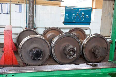 repair of railway wheelsets production depot transport.