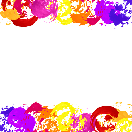 holi: Watercolor stains, texture. background for your design, for textiles, fabrics, souvenirs, packaging, greeting cards, screen, scrapbooking. grunge, dirt, streaks.